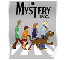 Scooby Doo Abbey Road Poster