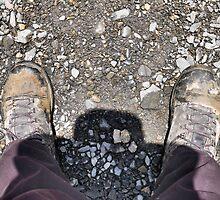 On a nice day along the Murghab - feet (2) by Marjolein Katsma