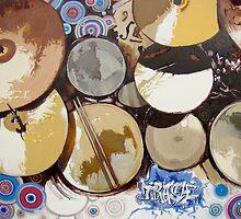 Sven's Drum-Set by Franko Camue