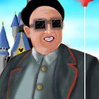 Kim Jong Il in Disneyland by PremierGrunt