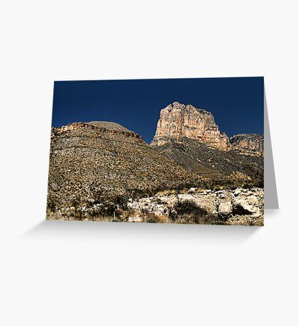 Guadalupe Peak Greeting Card