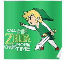 Call Me Zelda, Link Poster
