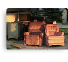 Roadside Recliners Canvas Print