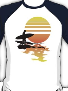 Surfing Sunrise T-Shirt
