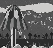 salt water wells in my eyes  by Acelyn Cakes