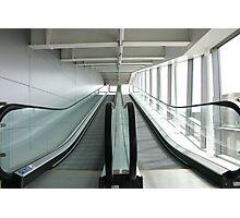 The escalator  Photographic Print