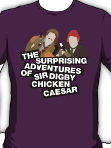 The surprising adventures of Sir Digby Chicken Caesar T-Shirt