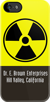 Dr. E. Brown Enterprises Hill Valley, California (iPhone & iPod Cases) by PopCultFanatics