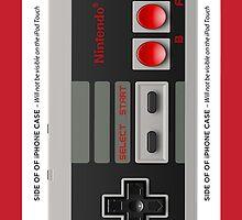 NES CONTROLLER iphone Case by grafidiU