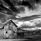 Old Barn by Karen  Burgess
