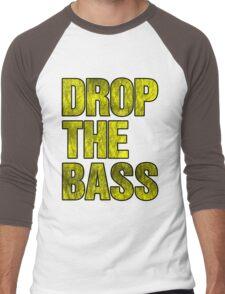 Drop The Bass (yellow) Men's Baseball ¾ T-Shirt