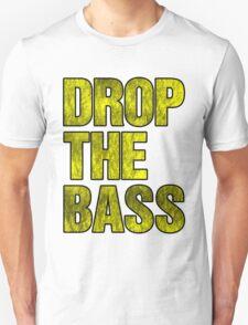 Drop The Bass (yellow) Unisex T-Shirt