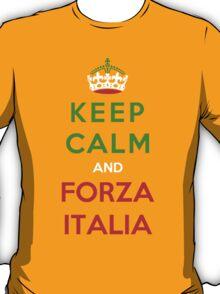 Keep Calm And Forza Italia T-Shirt