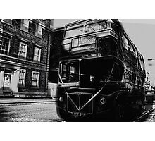 Wedding bus Photographic Print