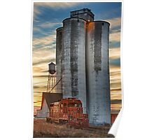 Great Western Sugar Mill Longmont Colorado Sunrise Poster