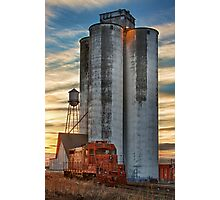 Great Western Sugar Mill Longmont Colorado Sunrise Photographic Print