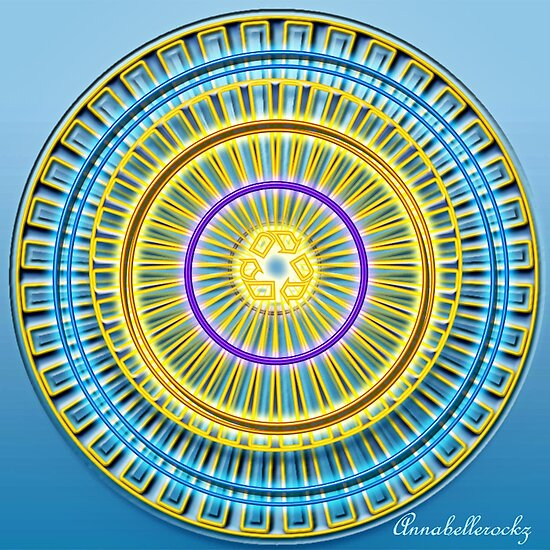 The Blue wheel by Annabellerockz