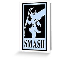 """Super Scent Bros """"Angel"""" Greeting Card"""