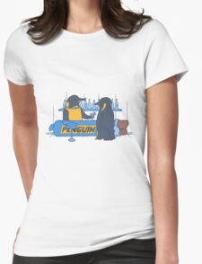 Penguin bar Womens Fitted T-Shirt