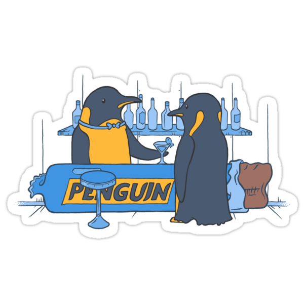 Penguin bar by Nathan Joyce