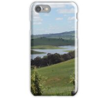 Landscape view of Lake Carcoar iPhone Case/Skin