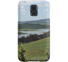 Landscape view of Lake Carcoar Samsung Galaxy Case/Skin