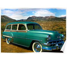 1954 Chevrolet Station Wagon Poster