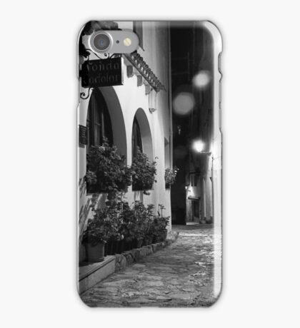 Rain on the Cobbles iPhone Case/Skin