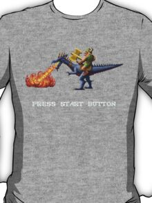 Golden Axe Pixel Style- Retro DOS game fan shirt #2 T-Shirt