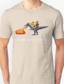 Golden Axe Pixel Style- Retro DOS game fan shirt #2 T-Shirt