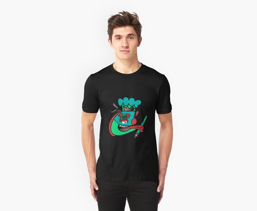 Chefleclef Black Shirt Version  by Chefleclef