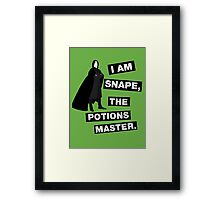 The potions master Framed Print
