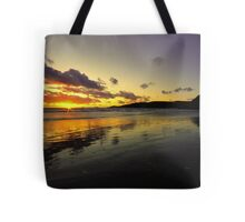 Sunset at New Gale Tote Bag