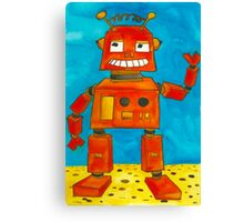 Captain Anuka the robot Canvas Print