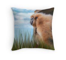 Mogwai The Gibbon Throw Pillow