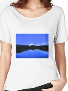 Blue Mirror Lake Women's Relaxed Fit T-Shirt