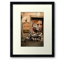 On the Road Framed Print