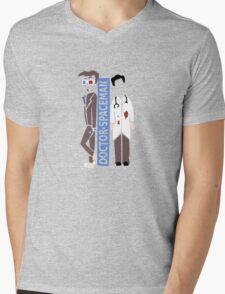 Doctor Spacemen Mens V-Neck T-Shirt