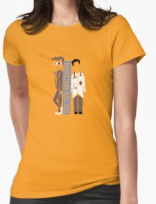 Doctor Spacemen Womens Fitted T-Shirt