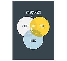 Pancake! Photographic Print