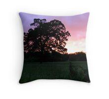 An Ozark Sunset Throw Pillow