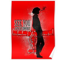 Cowboy in Space Poster