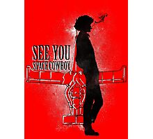 Cowboy in Space Photographic Print