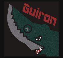 Guiron - Black One Piece - Short Sleeve