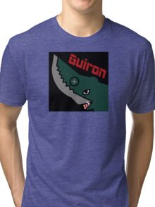 Guiron - Black Tri-blend T-Shirt