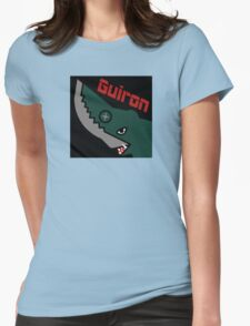 Guiron - Black Womens Fitted T-Shirt