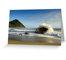 Scotts Beach. Greeting Card