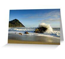 Scotts Beach. Greeting Card