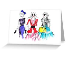 Shopping day Greeting Card
