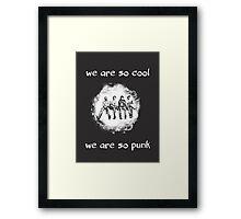 So Cool So Punk Framed Print